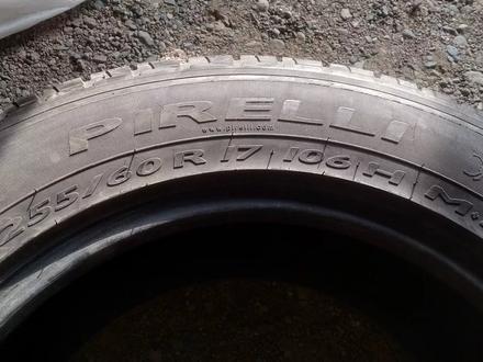 Пара шин 255/60/17 pirelli. за 15 000 тг. в Алматы – фото 4