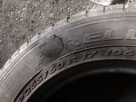 Пара шин 255/60/17 pirelli. за 15 000 тг. в Алматы – фото 6
