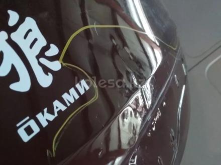 Крышка багажника на rav4 рестайлинг оригинал, состояние на фото за 75 000 тг. в Нур-Султан (Астана) – фото 5