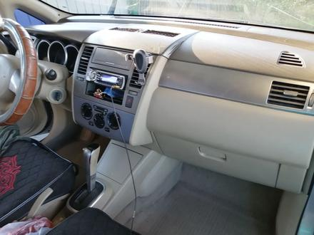 Nissan Tiida 2006 года за 2 750 000 тг. в Аксай – фото 6