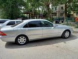 Mercedes-Benz S 320 2001 года за 3 900 000 тг. в Шымкент – фото 5