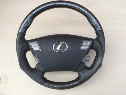 Руль (рулевое колесо) на Lexus LS460, из Японии за 80 000 тг. в Алматы
