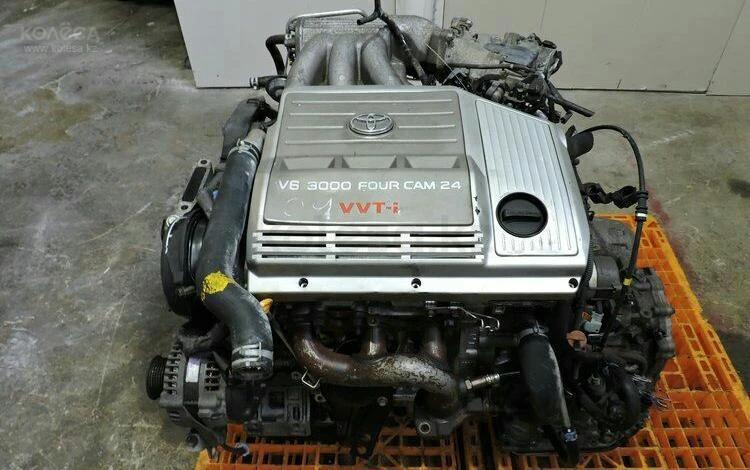 1MZ fe Мотор Lexus RX300 Двигатель (лексус рх300) 3.0 л… за 25 655 тг. в Алматы