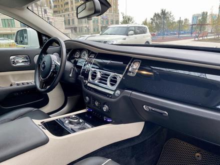 Rolls-Royce Wraith 2015 года за 79 000 000 тг. в Нур-Султан (Астана) – фото 26