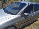 Peugeot 206 2003 года за 900 000 тг. в Рудный – фото 5