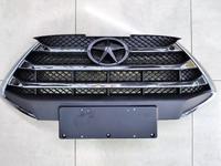 Решетка радиатора без эмблемы JAC s3 Джак с3 за 111 тг. в Атырау