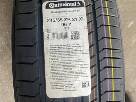 245-35-21 Continental ContiSportContact 5P за 119 700 тг. в Алматы