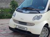 Smart ForTwo 2002 года за 2 500 000 тг. в Алматы – фото 2