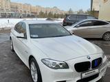 BMW 520 2014 года за 11 800 000 тг. в Нур-Султан (Астана) – фото 2