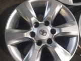 Диски на Toyota Prado 150, 6x139.7 за 250 000 тг. в Алматы – фото 3