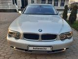 BMW 745 2003 года за 4 750 000 тг. в Алматы – фото 5