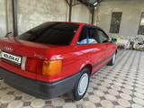 Audi 80 1991 года за 1 900 000 тг. в Тараз – фото 4