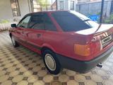 Audi 80 1991 года за 1 900 000 тг. в Тараз – фото 5