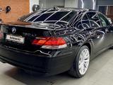 BMW 750 2007 года за 5 400 000 тг. в Алматы – фото 3
