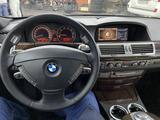 BMW 750 2007 года за 5 400 000 тг. в Алматы – фото 5