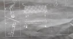 Шторку багажника Mercedes Vito за 35 000 тг. в Караганда – фото 3