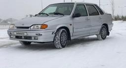 ВАЗ (Lada) 2115 (седан) 2007 года за 870 000 тг. в Нур-Султан (Астана) – фото 2
