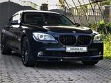 BMW 740 2010 года за 9 800 000 тг. в Алматы – фото 3