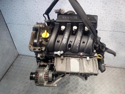 Контрактный двигатель k4j k4m Renault за 3 000 тг. в Алматы