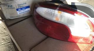 Фонарь задний левый Hyundai Accent за 555 тг. в Алматы