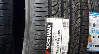 225/55r18 Yokohama Geolander g055 SUV за 39 500 тг. в Алматы