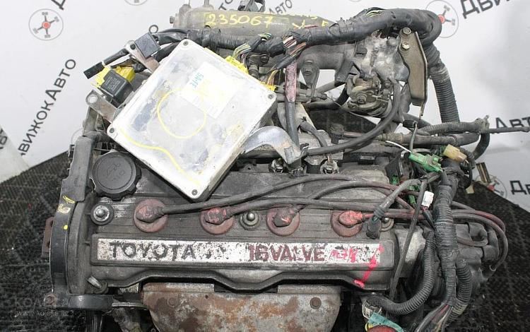 Двигатель TOYOTA 5A-FE Контрактный  Доставка ТК, Гарантия за 266 800 тг. в Новосибирск