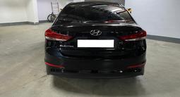 Hyundai Elantra 2018 года за 7 700 000 тг. в Нур-Султан (Астана) – фото 5
