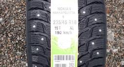 235/45 R 18 98t Nokian Hakkapeliitta 9 XL зимние шипованные шины за 93 830 тг. в Алматы – фото 3