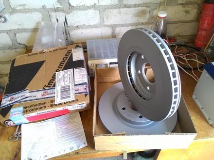 Передние тормозные диски X-trail t32 за 43 000 тг. в Алматы