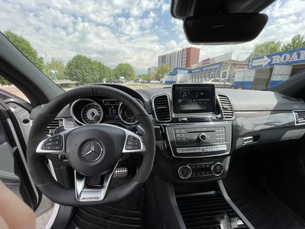 Mercedes-Benz GLE Coupe 63 AMG 2015 года за 37 750 000 тг. в Алматы – фото 11