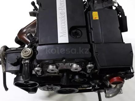 Двигатель Mercedes-Benz 271 C 200 w203 за 600 000 тг. в Актау – фото 3