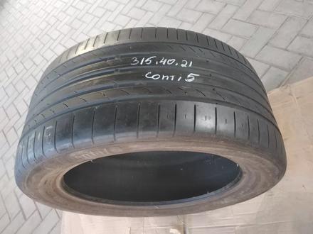 315.40.R21-есть 1шт. Continental Conti Sport contact5 за 30 000 тг. в Алматы – фото 3