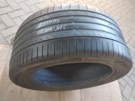 315.40.R21-есть 1шт. Continental Conti Sport contact5 за 30 000 тг. в Алматы – фото 4