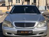 Mercedes-Benz S 320 1999 года за 3 450 000 тг. в Шымкент – фото 2