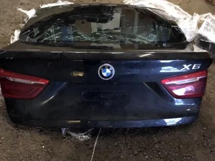 Крышка багажника Черная f16 x6 f86 x6m BMW за 212 500 тг. в Алматы