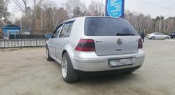 Volkswagen Golf 2002 года за 2 600 000 тг. в Кокшетау – фото 4