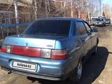ВАЗ (Lada) 2110 (седан) 2002 года за 550 000 тг. в Костанай – фото 5