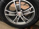 Новые титановые диски с новыми шинами за 150 000 тг. в Шымкент – фото 2