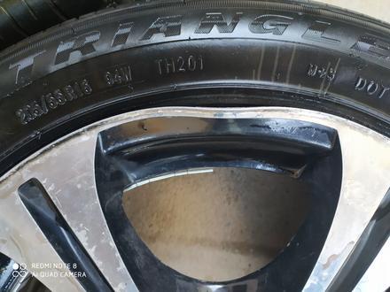 Резину (бу) летние на дисках ТИТАН за 65 000 тг. в Алматы – фото 4
