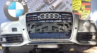 Бампер передний в сборе Audi A6 рестайл за 210 000 тг. в Алматы