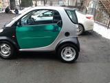 Smart ForTwo 2000 года за 1 700 000 тг. в Алматы – фото 3