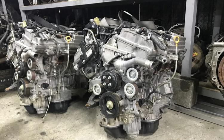 Мотор 2gr-fe двигатель toyota camry 3.5л (тойота камри) за 66 111 тг. в Алматы