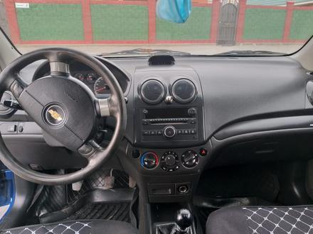Chevrolet Aveo 2007 года за 1 600 000 тг. в Актобе – фото 3