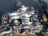 Контрактные двигатели из Японий на Субару EJ25 4распредвальный за 300 000 тг. в Алматы – фото 2