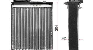 Радиатор отопителя салона Renault Logan 04 — Logan 08 —… за 7 850 тг. в Алматы