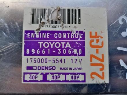 Блок управления двигателем Lexus Gs 300 (б у) за 36 000 тг. в Костанай – фото 2