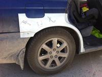 На Subaru Legacy B3, ремчасти задних крыльев, новые металлические за 19 000 тг. в Нур-Султан (Астана)