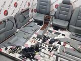 Салон кожа серая на Mercedes-Benz w124 E за 808 138 тг. в Владивосток – фото 5