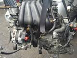 Двигатель на Nissan Note HR15 за 170 000 тг. в Алматы – фото 2