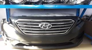 Бампер передний на Hyundai Sonata 8 2015-2017 за 98 000 тг. в Алматы